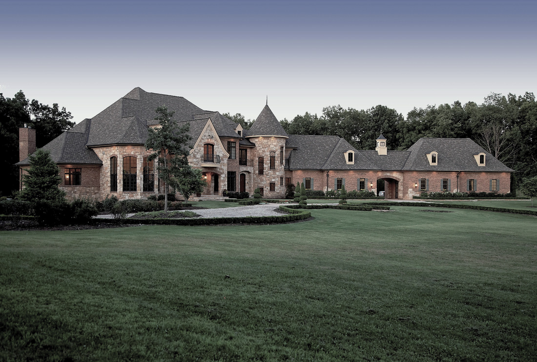 French Country Estate Vanbrouck Amp Associates Vanbrouck