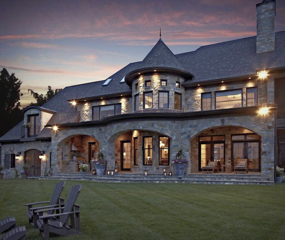 Lake Mansion: VanBrouck & Associates