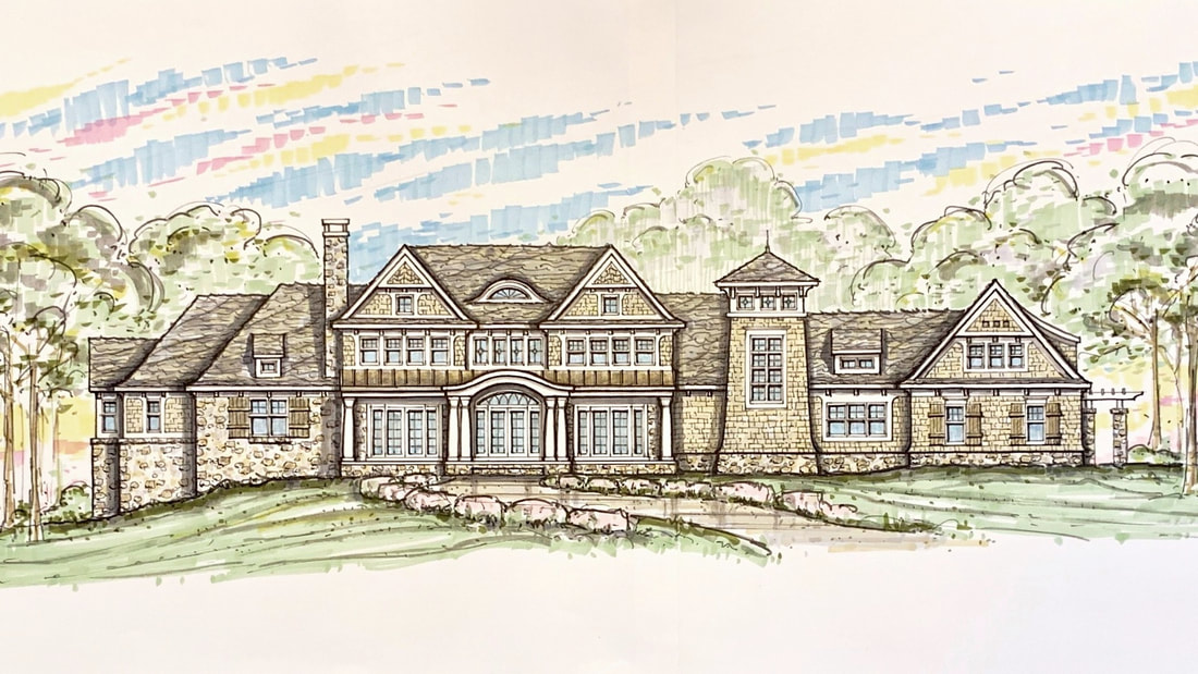 Shingle-Style Home, Bloomfield Hills, MI